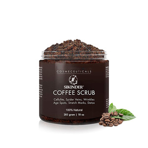 wholesale private label salt coffee bean body scrub