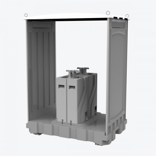 TPW-M01 4-Person Portable Hand Washing Station
