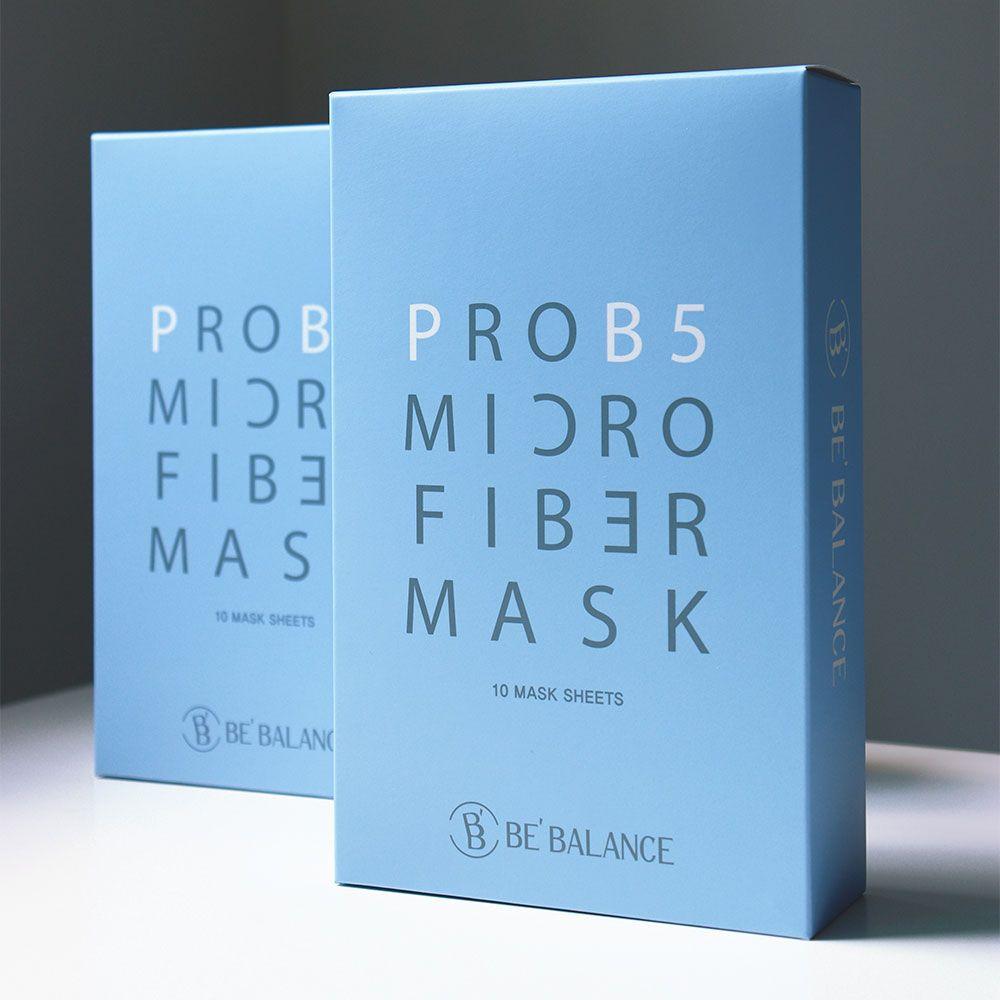 PROB5 MIRCO FIBER MASK (Premium 3 Step Mask for Restore and Moisturizing Care)