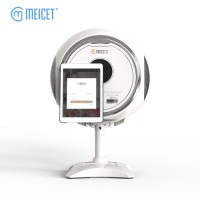 Entry Level Skin Analyzer for spa and beauty industry  / Portable skin analyzer with app magic mirror