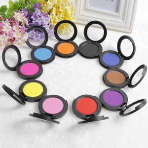 10 colors non- toxic hair chalk Temporary round big colored chalk for hair dye