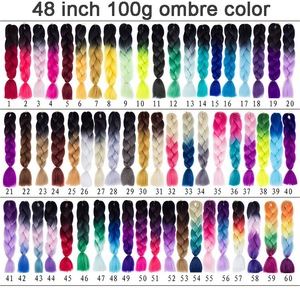 Aisi Hair Wholesale Cheap Price 48 Inch Crochet Braids With Synthetic Hair