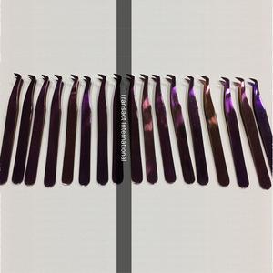 Best Selling High Quality Plucking Eyebrow Tweezers Eyelash Extension Tweezers