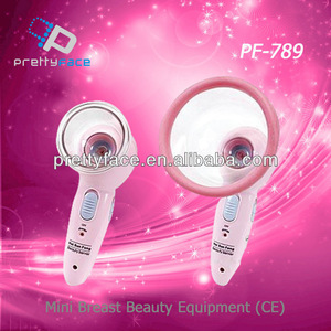 female beautiful breast massage cupping machine PF-789