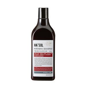 [HA'SOL] HIGH QUALITY Korean Cosmetic Hair Product anti-hairloss dandruff scalp care hair care INTENSIVE Herbal SHAMPOO