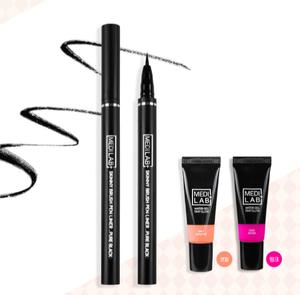 Korean Beauty DAYCELL Medi Lab Skinny Brush Pen Liner Pure Black 0.7g Waterproof Korean Eyeliner