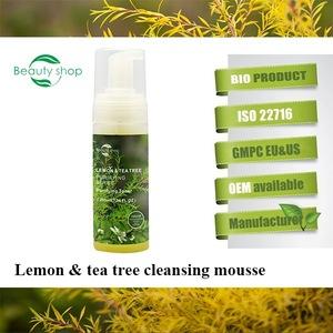 Lemon organic face toner tea tree toner face best skin whitening and firming face toner oem