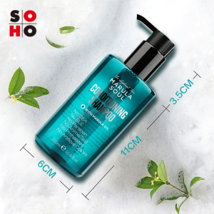 Luxury Private Label Plant Oil Cleansing And Moisturizing Hair Shampoo