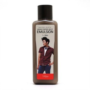 Military Black Sebum Control Multi Emulsion for Man