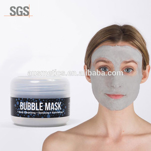 Mineral Beauty Charcoal Face Wash Carbonated Bubble Clay Mask Oxygen bubble face mask