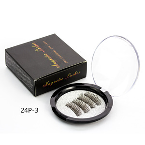 Natural Long Thick Style Own Brand Fake Eyelashes Mink Artificial Lahes