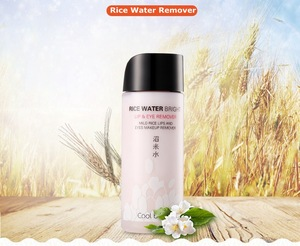Rice water hydrating facial cleanser and eye makeup remover