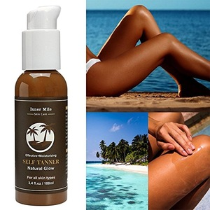 Summer Sunless Tanning Lotion Spray Tan Effective Moisturizing Natural Glow Self Tanning