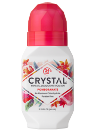 Antiperspirant deodorant roll on crystal deodorant