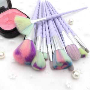 10pcs/set  Makeup Brush Set Foundation Powder Eye shadow Blending Make Up Brushes Cosmetic Beauty Make Up Tools