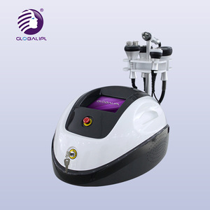 2019 Fast Fat Removal Ultrasound Cavitation Tripolar RF Face Lifting Vacuum Cavitation RF System
