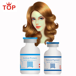 Ammonia PPD free Self-cleaning Water Washable 100% Coverage Grey Hair Color Dye