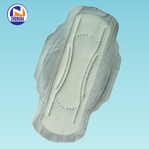 blue best chip biodegradable women sanitary pads in the world