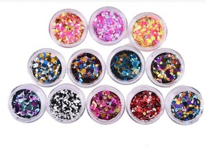 Body Glitter Powder Shimmer Tattoos Colorful Acrylic Polyester Glitter