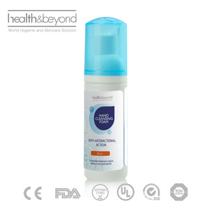 Children use alcohol free foaming hand sanitizer instant hand wash