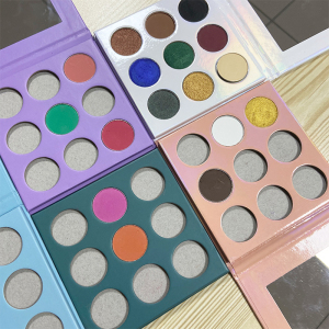 Custom your own brand makeup eye shadow palette makeup eyeshadow palette with private label