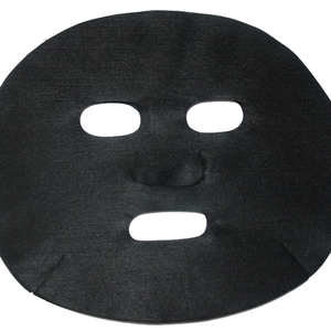 Factory Direct Sale Cosmetic Products Activated Carbon Black Korean Face Mask Sheet for Skin Care