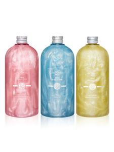HeBiQuan OEM Bulk Brightening Women Deep Moisture Shower Gel Private Label Bath Whitening Shower Gel Body Wash