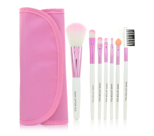 Makeup tools Blush Concealer Eye Shadow, Synthetic Fiber Bristles Cosmetic Brushes Kit for Foundation