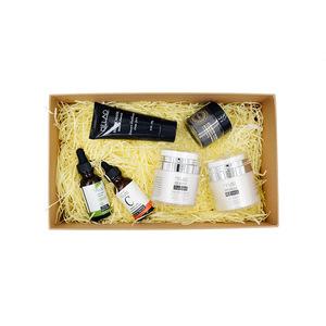 Melao Organic Skin Care Product Set((Facial Black Mask , Vitamin C Serum , Argan oil , Eye gel ,Charcoal Powder , Retinol cream