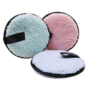New Reusable Microfiber Makeup Remover Pads Washing Facial Cleaning Cloth