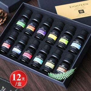 Private label OEM pure aromatherapy essential oil gifts set mixing natural skin care body massage oil