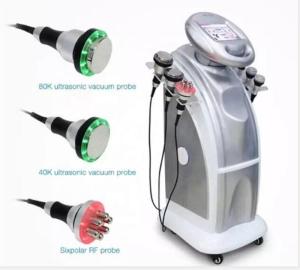 Professional 80K Cavitation Slimming Machine Vertical Ultrasound Body Slimming Machine with Vacuum Cavitation System