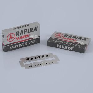 Rapira Platinum double edge razor blades