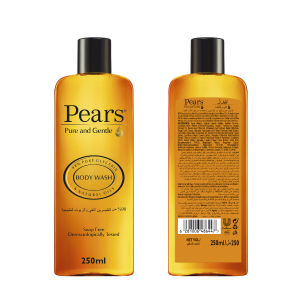 Soap Free Shower Gel with Essential Oils Extract 250ml