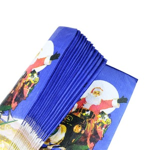 TOP Sale OEM Design Smooth Christmas Series Cheap Napkins