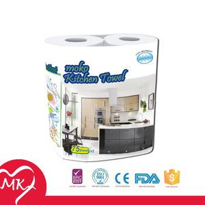 2015 Soft skin cheapest kitchen towel hand towel toilet paper kitchen towel paper