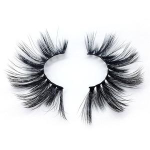 25mm 3D mink lashes 100% real mink fur false eyelashes