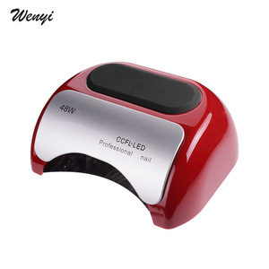 48W Nail Dryer - UV lamp for nail Polish UV Gel fast dry CCFL LED Nail tools with automatic sensor Salon Beauty Equipment