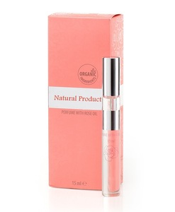 Alcohol-Free Perfume With Bulgarian Rose Oil - 15 ml. Natural Cosmetic Products. Made in EU
