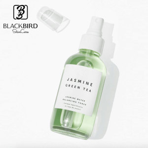 All Natural Plant Facial Balancing Toner Jasmine Green Tea Face Mist Spray