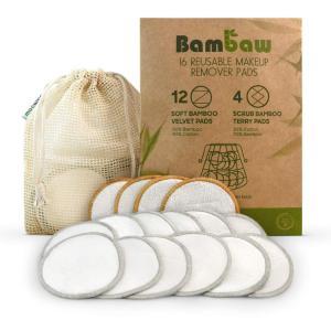 Bamboo Fiber Reusable Makeup Remover Pad Bamboo Velvet Customizable Washable Amazon