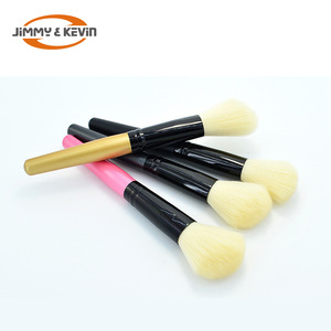 JIMMY&KEVIN  Black  Aluminum Tube  Makeup Tool  Blush Brush Liquid Foundation Brush