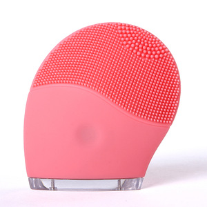 mini waterproof design facial sonic brush with massage and clean skin with CE FCC ROHS