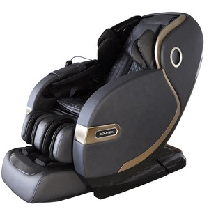patent leather chair retractable massage chair 4D zero gravity for health