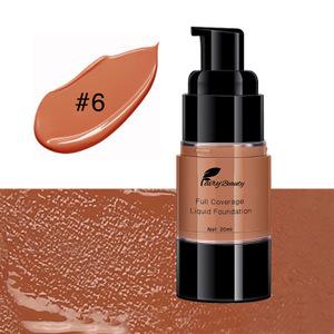 private label long lasting full coverage blemish free bronzer makeup natural tan liquid foundation for dark skin