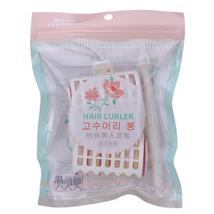 Wholesale hair salon equipment plastic mesh hair curlers rollers