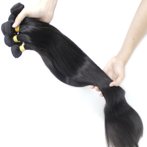 Wholesale Vendor 100% Unprocessed Double Drawn Mink Cuticle Aligned Raw Virgin Indian Hair Straight