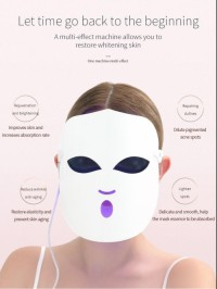 Led facial mask / 2020 New Product beauty photon led facial mask therapy 108 LED lights