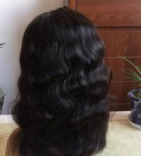 100%handmade Full lace wig wavy