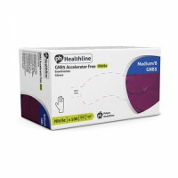 Healthline Violet PF Accelarator Free Nitrile Gloves, 1 x 100 Wholesale